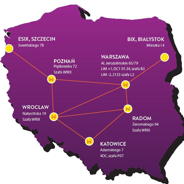WRIX Mapa